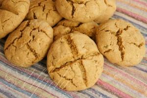 нахутен соден хляб с тиквени семки